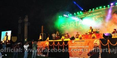 Satinder Sartaaj Panjab University Live Show Photos